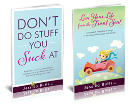 Live Your Life From The Front Seat book